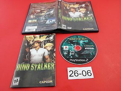 Dino Stalker [Complete CIB] (Sony Playstation 2 PS2) Tested & Working