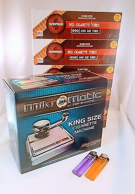 MikrOmatic Cigarette Making Injector Machine by Top O Matic