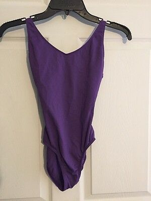 Bloch Leotard Tank Style In Purple Size Small Adult