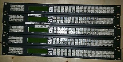 Lot of 5 Pesa Switching Systems Panel RCP-MP32D