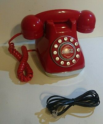 2003 Coca-Cola red touch-tone telephone