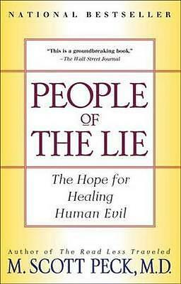 NEW People of the Lie By Scott Peck Paperback Free Shipping