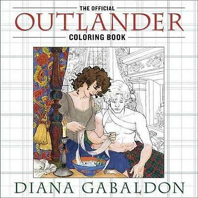 NEW The Official Outlander Coloring Book By Diana Gabaldon Paperback