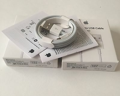 Lot of 10 GENUINE ORIGINAL- QUALITY  CHARGER USB CABLE  IPHONE 6/6 Plus 5 5S 5C