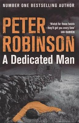 NEW A Dedicated Man  By Peter Robinson  Paperback Free Shipping