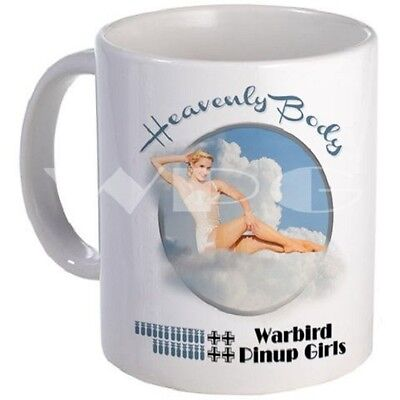 Heavenly Body Mug - Warbird Pinup Girls - Dishwasher and Microwave Safe