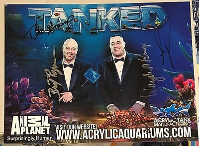 """""""tanked"""" Cast, 100% Authentic 8 1/2"""" X 11"""" Autographed Photo, Signed By All 4 !"""
