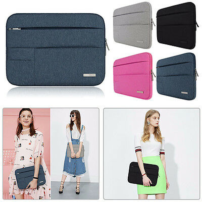Laptop Notebook Sleeve Case Nylon Bag Cover For MacBook Air/Pro 11/13/15 inch PC
