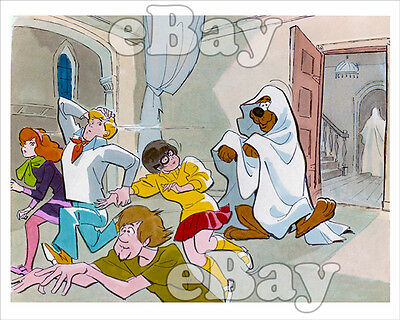 Rare! SCOOBY DOO WHERE ARE YOU Cartoon Photo HANNA BARBERA Studios CONCEPT ART