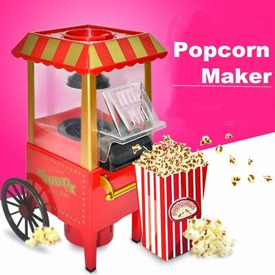 Electric Profession Pop Corn Popper Popcorn Maker Cooker Machine Home Party DIY