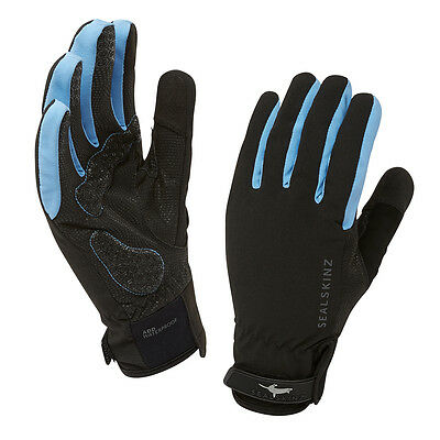 SEALSKINZ Unisex Sealskinz All Weather Women Cycle Handschuhe Blue NEU
