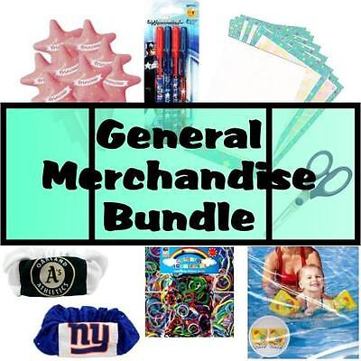 Wholesale Liquidation Sale Lot of 1000 Assorted Dollar Store General Merchandise