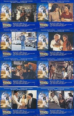 BACK TO THE FUTURE (1985) U.S. Lobby Cards Complete Set of 8 (8 x 10 Inches)