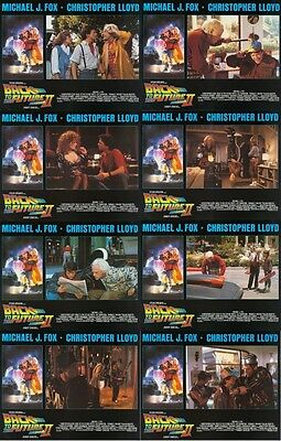 BACK TO THE FUTURE PART 2 (1989) U.S. Lobby Cards Set of 8 (8 x 10 Inches)