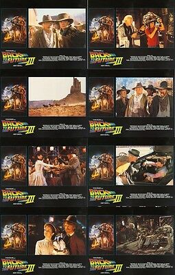 BACK TO THE FUTURE PART 3 (1990) U.S. Lobby Cards Set of 8 (8 x 10 Inches)