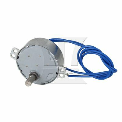 BQLZR AC 110 V 0.8-1 RPM Non-Directional Synchronous Motor Silver