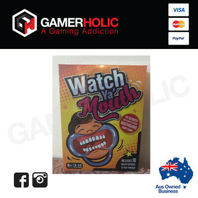 Watch Your Mouth Board Game Party Watch Ya Mouth Hot Funny Family Game NEW