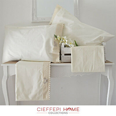 Completo Lenzuola Matrimoniale Butterfly - Cieffepi Home Collections