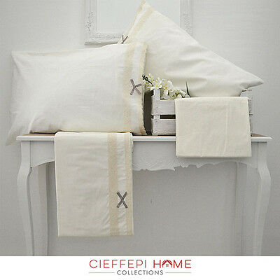 Completo Lenzuola Matrimoniale Valery - Cieffepi Home Collections