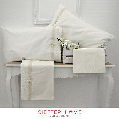 Completo Lenzuola Matrimoniale Toulouse - Cieffepi Home Collections