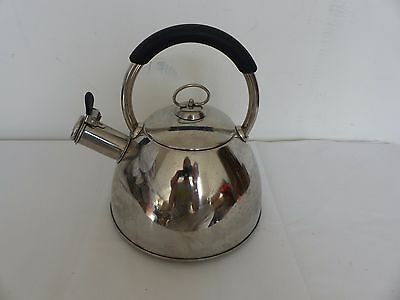 Contemporary Stovetop Kettle, Stainless Steel 1.7L