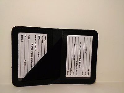 """Double ID Case Holder Wallet Double ID Case Holder Fits 4"""" Height x 2 5/8"""" Width"""