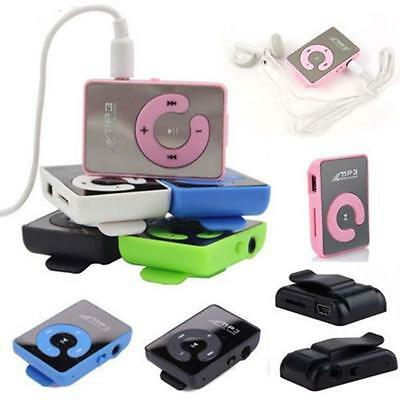 Hot Colorful High quality USB 2.0 Mini Mp3 Music Player Support 8G SD TF Card GG