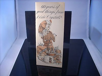 Vintage Dixie Sugar Crystals Cook Book Booklet 36 recipes
