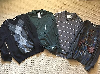 Lot Of 8 Mens Shirts/sweaters Gap/oldnavy Etc Size Large