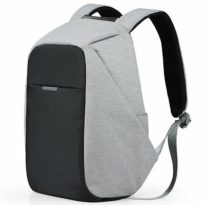Oscaurt Anti-theft Backpack Busniess Laptop Book School Bag with USB Charger