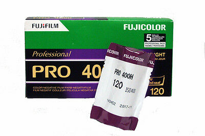 Fuji PRO 400H 120 Medium Format Colour Print Film - ONE 120 Roll