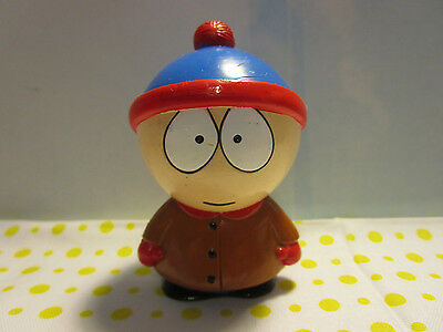 "1998 Comedy Central South Park  Hard Plastic Figure ""stan"" (S3/25)"