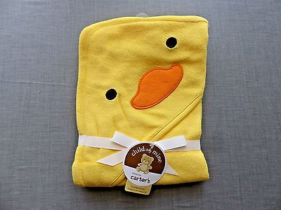 NWT Child of Mine by Carter's Ducky Hooded Towel - Hooded Ducky Bath Towel