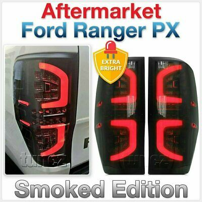 Smoked LED Tail Rear Lamp Light For Ford Ranger PX T6 MK2 XL XLT Car Smoke OZ