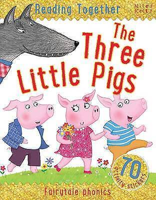 Reading Together The Three Little Pigs, Miles Kelly Book The Cheap Fast Free