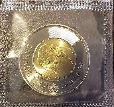 2017 $2 Toonie Canada Uncirculated Sealed From Original Mint Set