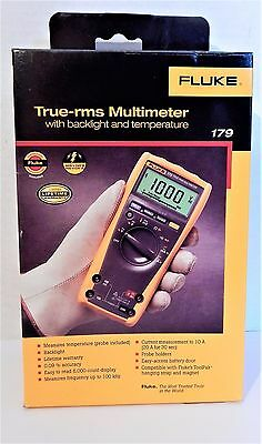 Fluke 179 True Rms Digital Multimeter With Temperature Brand New