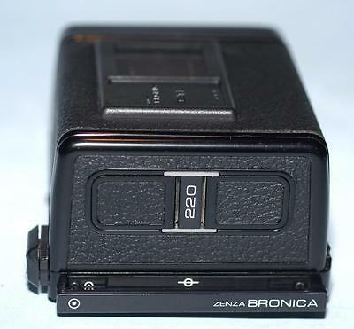 Bronica ETR 220 Film Back E for ETR ETRS ETRSi camera - Nice Mint-!
