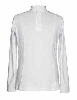 Shires Mens Hunting Shirt - competition -White - All Sizes  XS-XXL