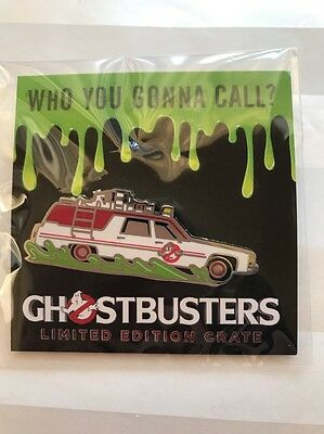 Lootcrate Exclusive Ghostbusters Limited Edition Ecto-1 Enamel Pin New