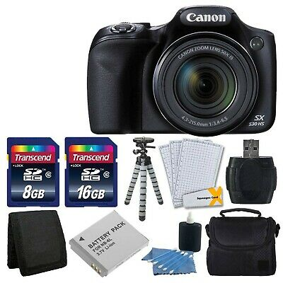 Canon PowerShot SX530 HS Digital Camera with 50x Optical Image Stabilized Zoom w