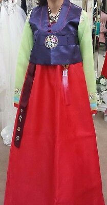 Women's Traditional Korean Hanbok Size 6
