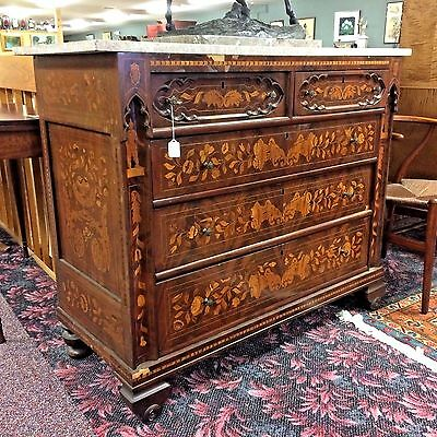 18th-19th Century Dutch Inlaid Chest of Drawer