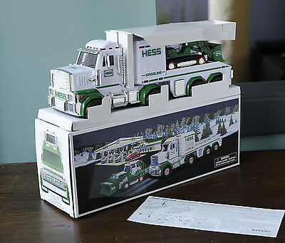Hess Truck and Tractor 2013 New In Box...Nice!