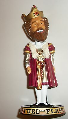 "2011 Burger King 8"" Bobblehead ""Fuel The Flame"" Advertising"