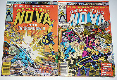 The Man Called Nova #3 and #10 Marvel comic