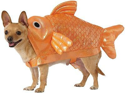 Goldfish Gold Fish Animal Sea Ocean Fancy Dress Up Halloween Pet Dog Cat Costume