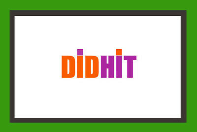 DID HIT .COM For Sale! PREMIUM DOMAIN NAME! Aged 2005!  BRANDABLE 4 5 6 Letter