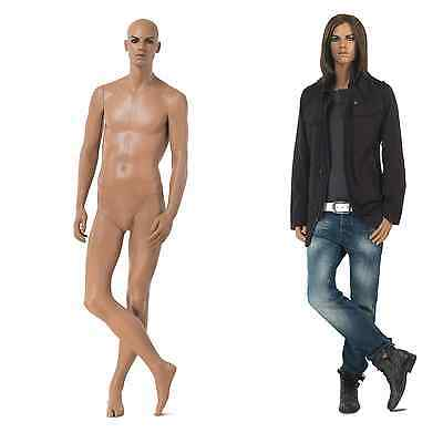 Incredibly 'realistic' male mannequin by Hans Boodt - Style code M2206