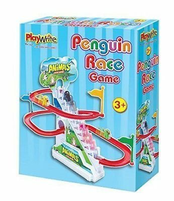 Classic Playwrite Penguin Race Game